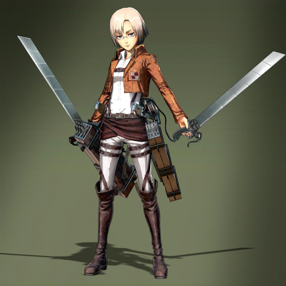 Rico en Attack on Titan Wings of Freedom