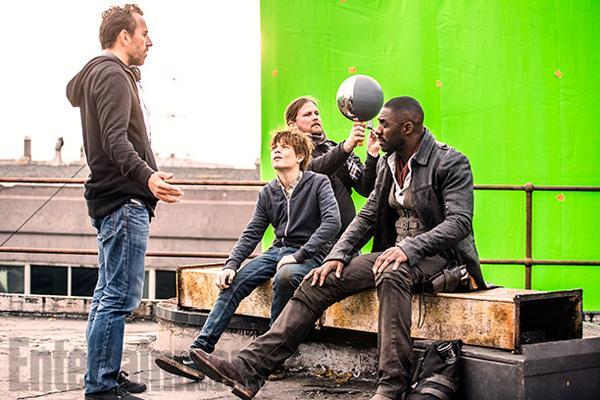 Idris Elba CGI