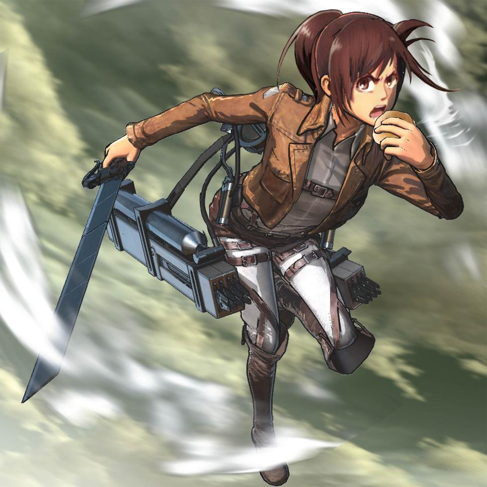 Sasha en Attack on Titan Wings of Freedom