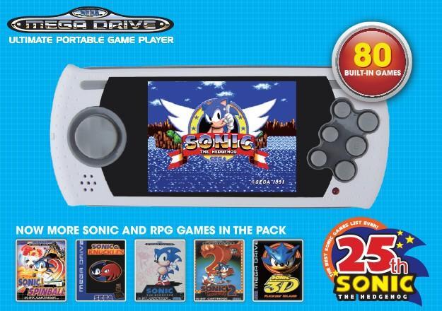 Mega Drive Anunciados Dos Modelos Con 80 Juegos Preinstalados