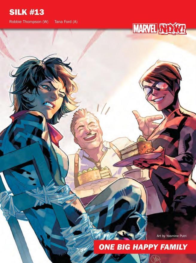 Silk de Marvel NOW!