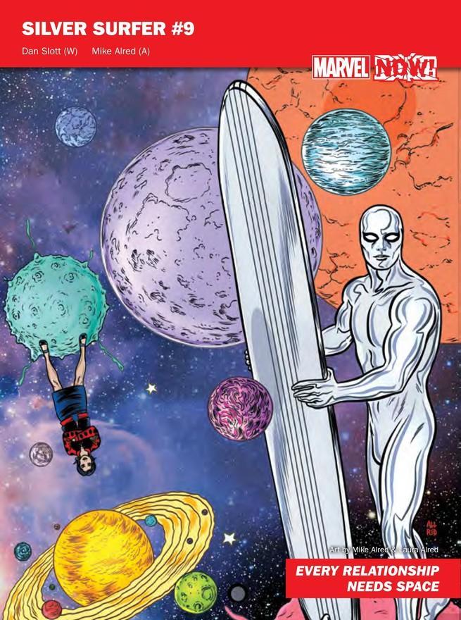 Silver Surfer de Marvel NOW!
