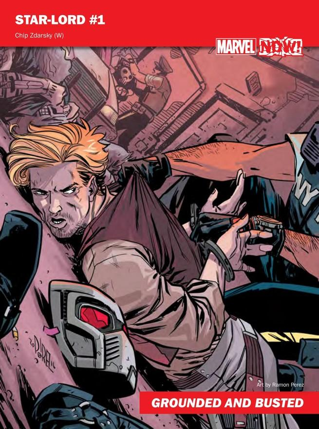 Star Lord de Marvel NOW!