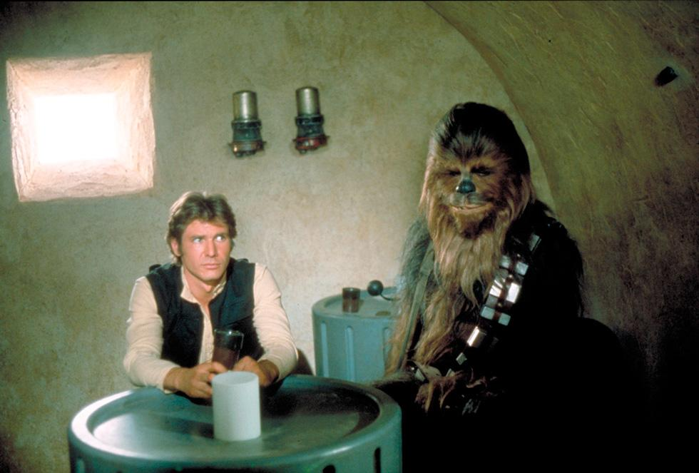 Star Wars episodio IV: Han Solo y Chewbacca