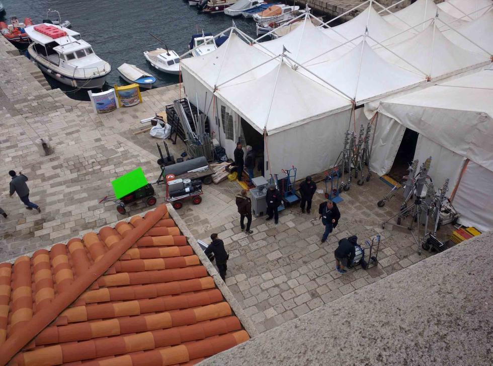 Rodaje de Star Wars en Dubrovnik