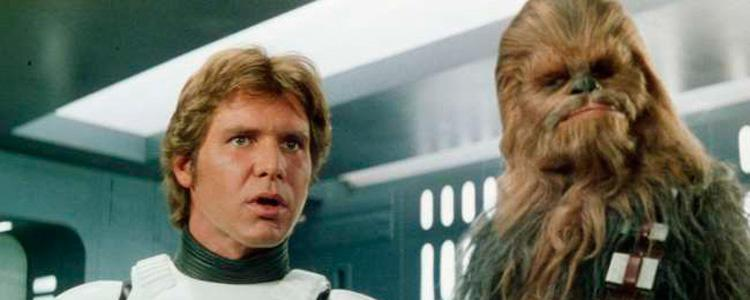 Star Wars: Han Solo y Chewbacca