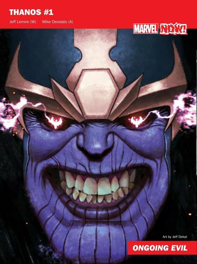 Thanos de Marvel NOW!