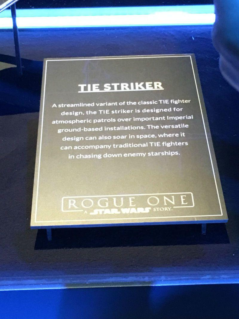 Star Wars Rogue One Tie Strike