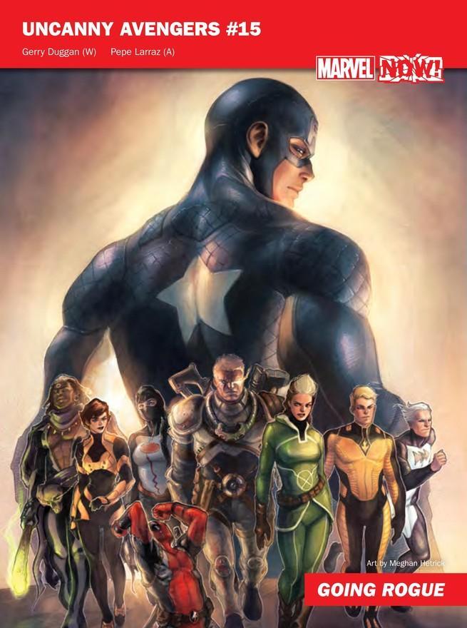 Uncanny Avengers de Marvel NOW!