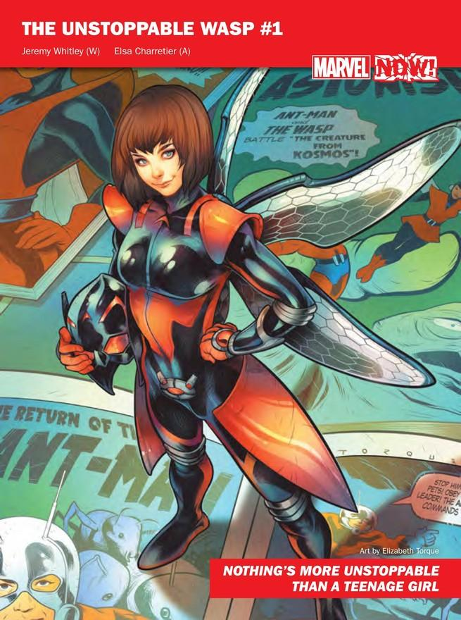 Unstoppable Wasp de Marvel NOW!