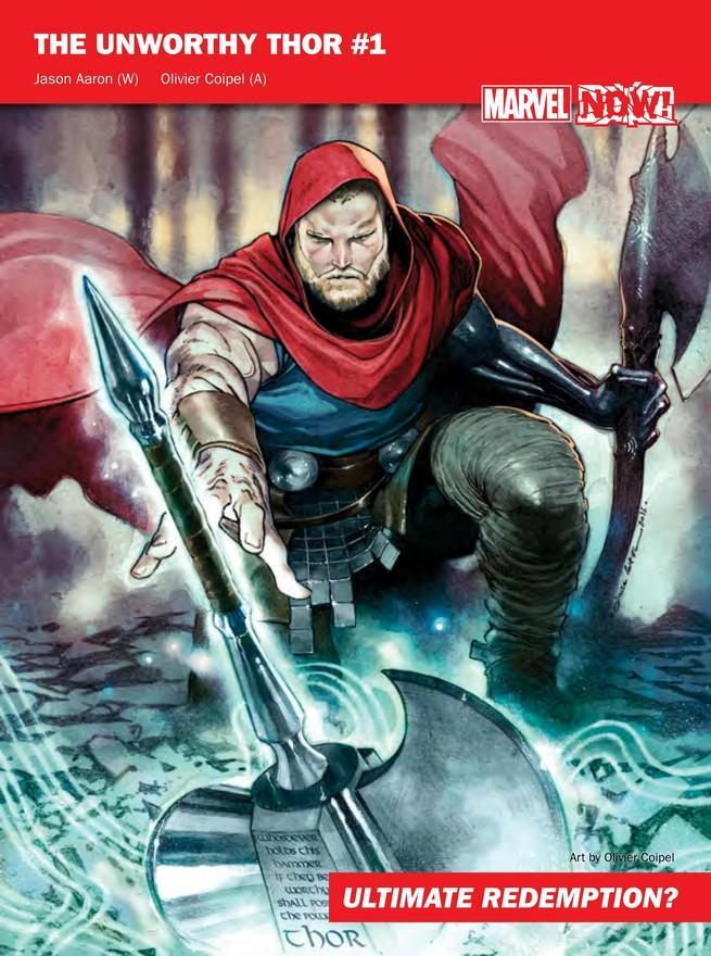 Unworthy Thor de Marvel NOW!