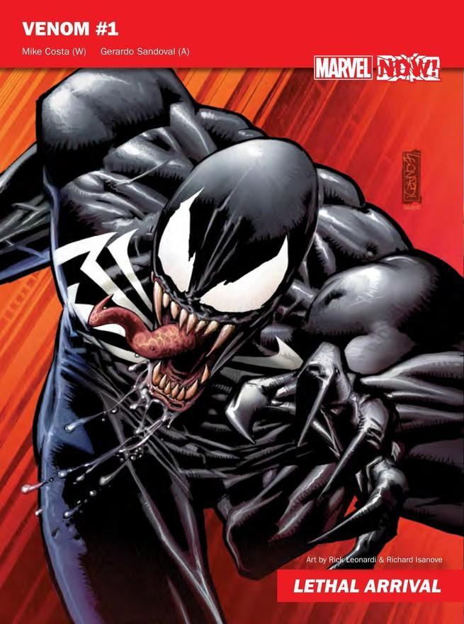 Venom de Marvel NOW!