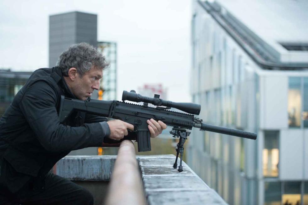 Vincent Cassel en Jason Bourne
