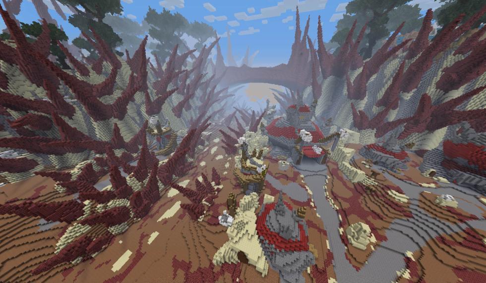 World of Warcraft Minecraft