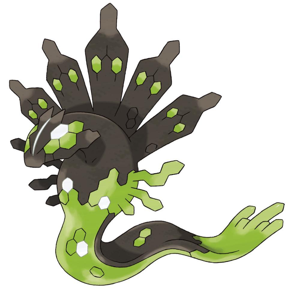 Zygarde 50% en Pokémon Sol y Pokémon Luna