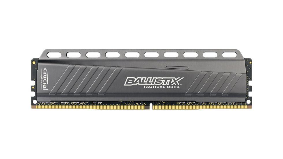 Memoria Ram Crucial Ballistix Tactical DDR4 de 8 GB para la configuración de pc gamer por menos de 600 €