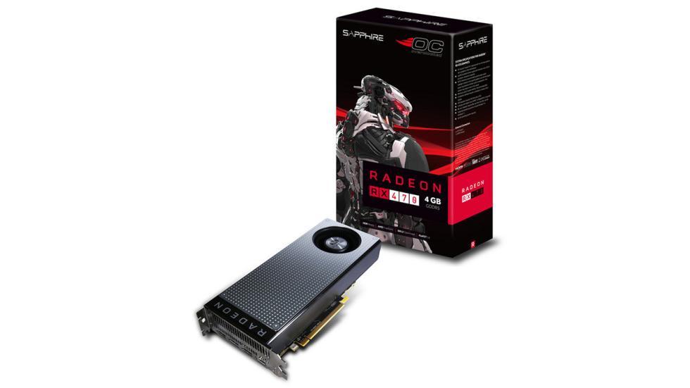 Tarjeta gráfica Sapphire RX 470 de 4 GB para la configuración de pc gamer por menos de 600 €