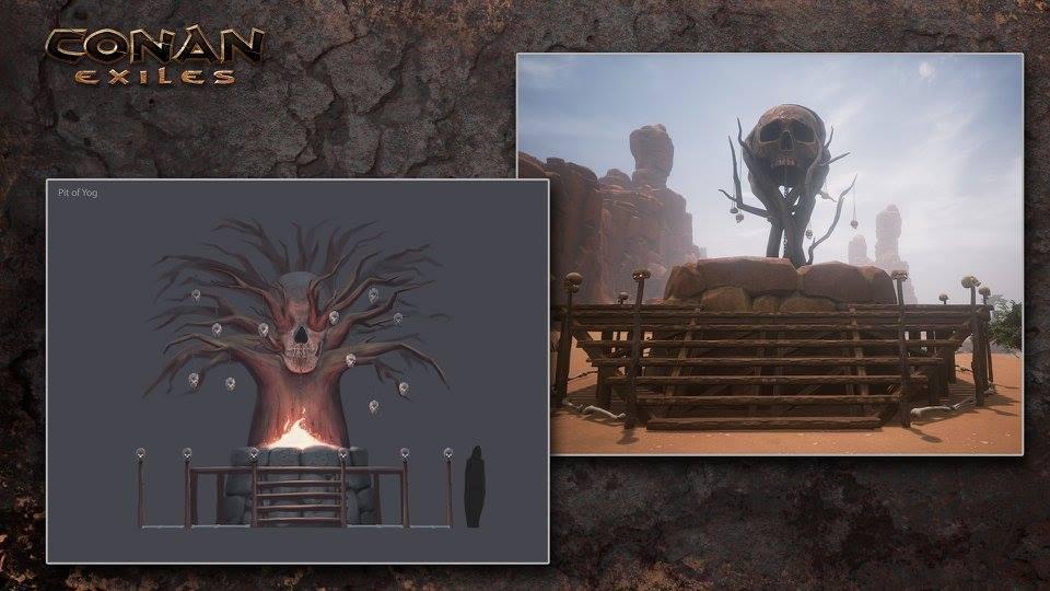 Altar de Yog en Conan Exiles