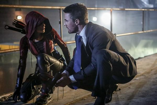 Arrow temporada 5 - Primera imagen de Prometheus, el nuevo villano