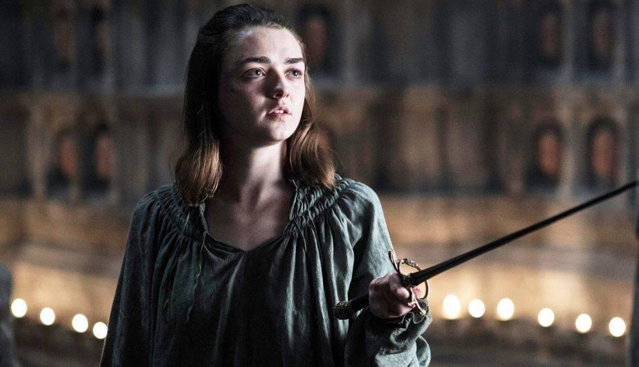 Arya Stark temporada 7 juego de tronos