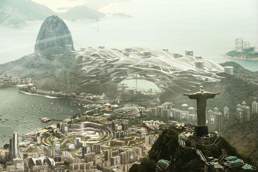 Río Deus Ex Mankind Divided