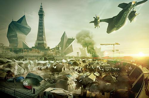 Blackpool Deus Ex Mankind Divided