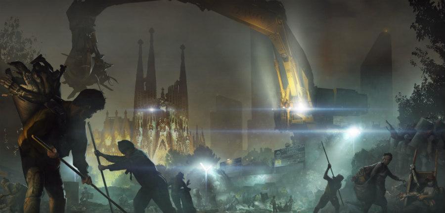 Barcelona Deus Ex Mankind Divided