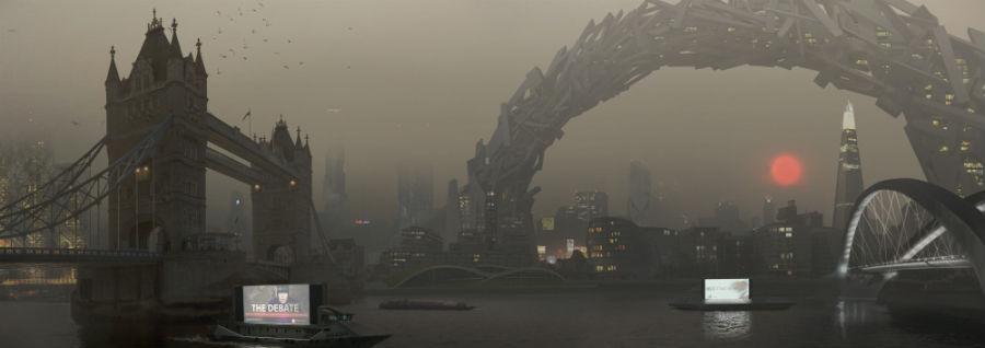 Londres Deus Ex Mankind Divided