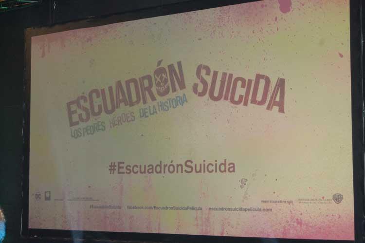 Escuadrón Suicida Premiere