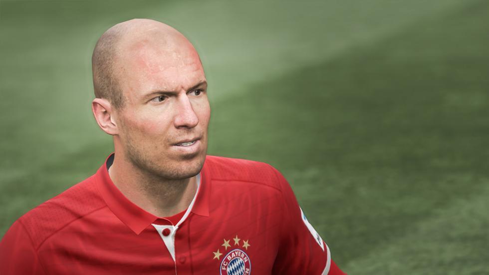 FIFA 17 Arjen Robben