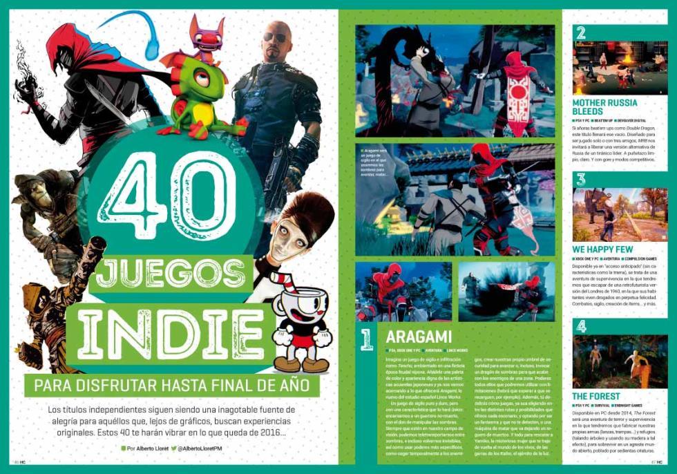 Hobby Consolas 302 juegos indie