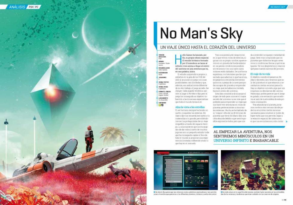 Hobby Consolas 302 No Man's Sky