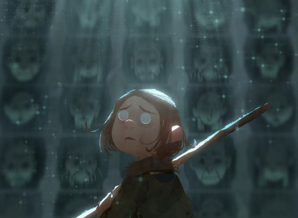 Pixar Alex Cho Ilustracion