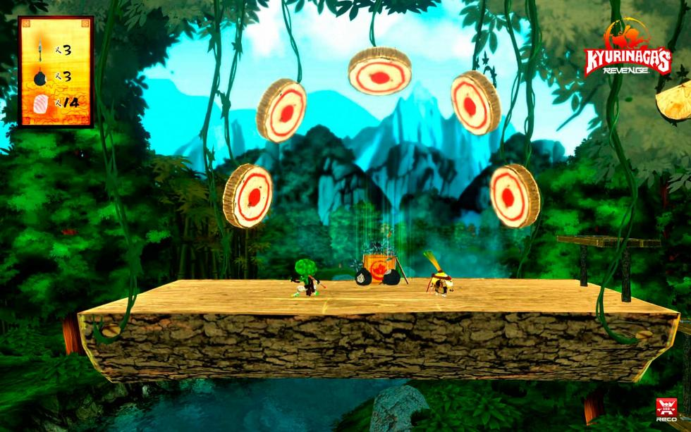 Kyurinaga's Revenge screens 1