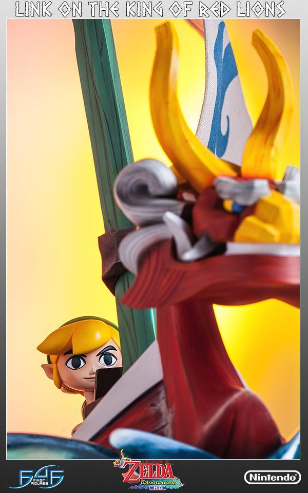 The Legend Of Zelda: Link on the King of Red Lions. First4figures