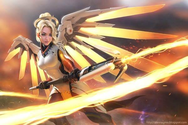 Mercy por AlexNegrea