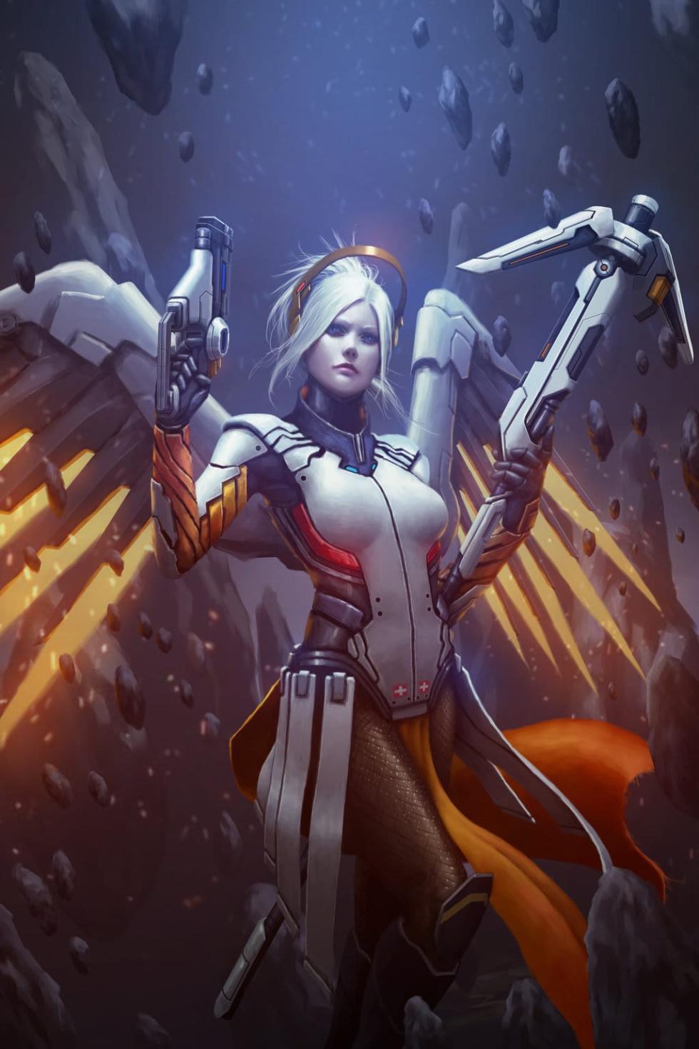 Mercy por Raikoart