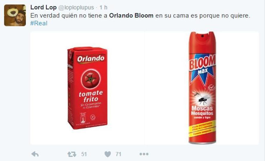 Orlando Bloom memes desnudo