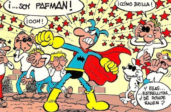 Pafman personajes Tebeo Español 90