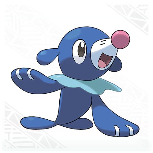 Popplio Pokémon Sol y Pokémon Luna