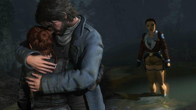 Rise of the Tomb Raider PS4 con la Lara original