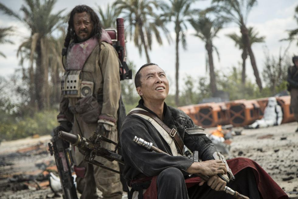 Rogue One Donnie Yen Chirrut Imwe Baze Malbus Jiang Wen