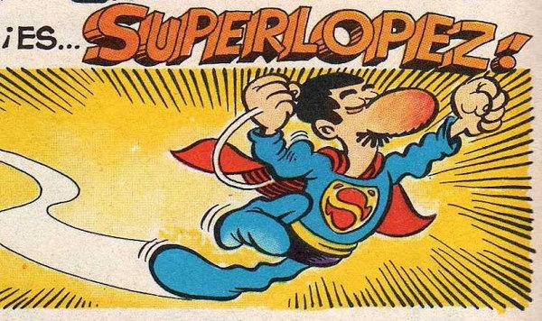 Superlopez tebeo español 90