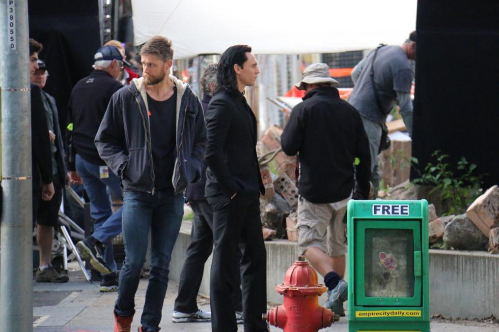 Rodaje en Brisbane con Chris Hemsworth y Tom Hiddleston