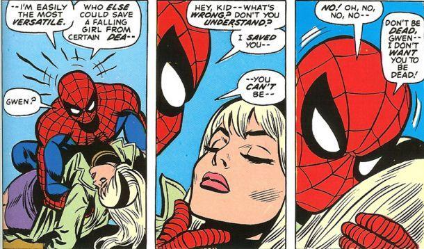5. La muerte de Gwen Stacy