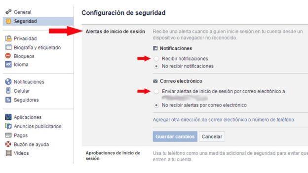 Cómo saber si entran en tu Facebook con tu clave: pasos