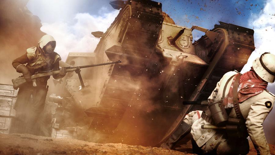 Battlefield 1 - Desierto del Sinaí
