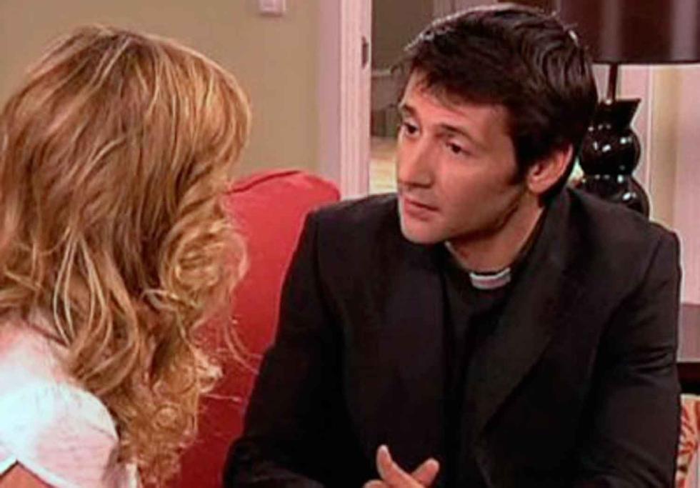 Berta y el padre Alejandro