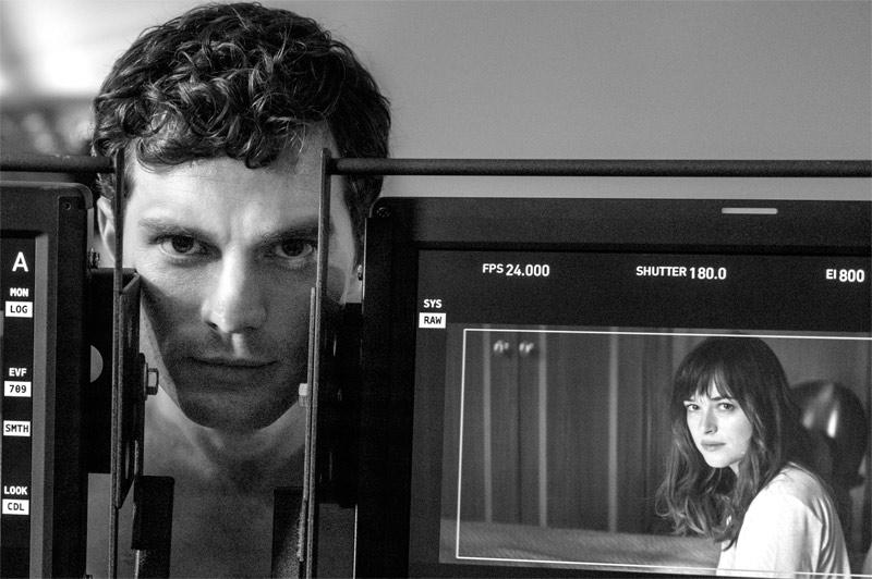 Fotos del rodaje de Cincuenta sombras de Grey
