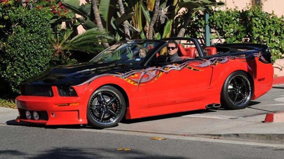 Los coches de Sylvester Stallone: Ford Mustang GT customizado